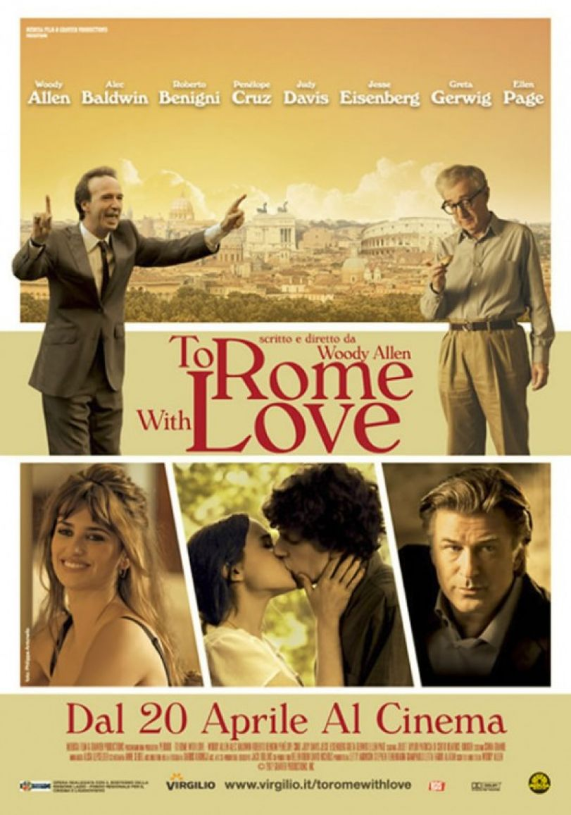 To Rome with Love 2012 movie